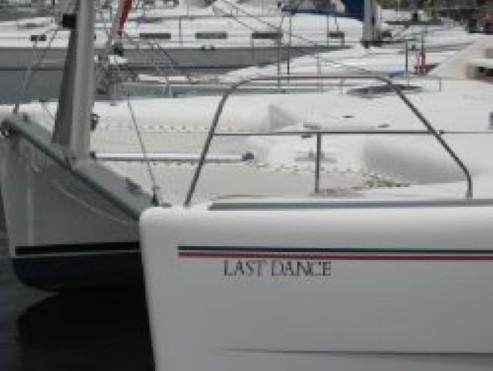 Used Sail Catamaran for Sale 2006 Leopard 43  Deck & Equipment